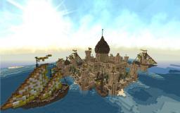 Desert Island Castle Minecraft