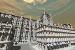 The late medieval city Minecraft Map & Project