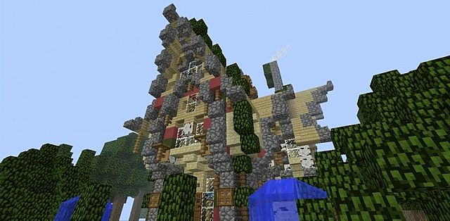 Fairy Tale Cottage Minecraft Project