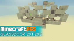 Glassdoor - 2x1 and 2x2 - fast Minecraft Map & Project