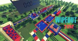 WIPEOUT ZONE Minecraft Map & Project
