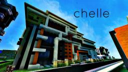 Chelle a modern mansion by Deezer3  (SpliffKidz) Minecraft Map & Project