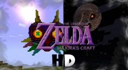 HD Ocarina of Time and Majora's Mask Resource Pack: Legend of Zelda Majora's Craft 64x (beta version 0.82 and PreRelease and 1.7.7 ready!) Minecraft