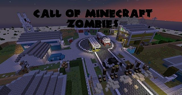 CALL OF MINECRAFT ZOMBIES! - Nuketown!