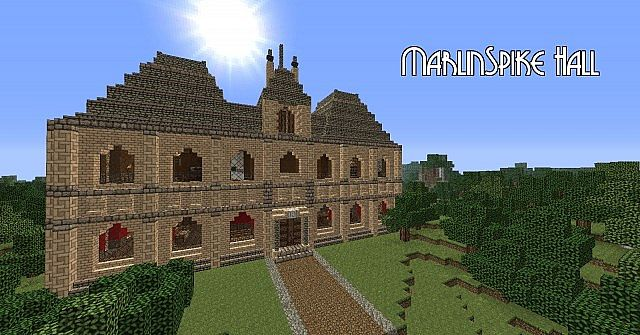 Marlinspike Hall Minecraft Project