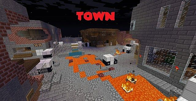 CALL OF MINECRAFT ZOMBIES! - Town!