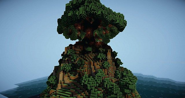 Projection Mapping Trees Tree of Life Minecraft Project