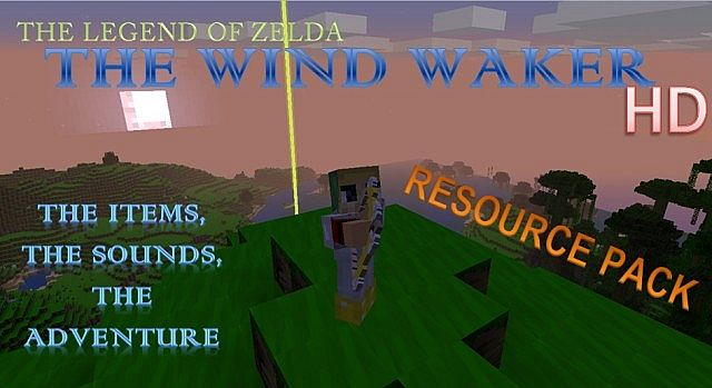 The Legend of Zelda The Wind Waker HD Resource Pack is finally here!