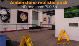 Amberstone - Realistic and 3D experience [x128] 1.8 to 1.16 Minecraft Texture Pack