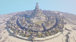 Tower Of Babel | Dessert City Minecraft Map & Project