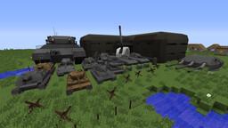 MCHeli German WW2 Content Pack Minecraft Mod