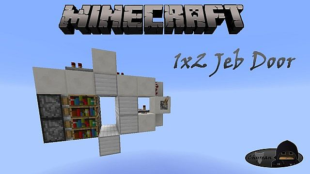 1x2 Jeb Door  sc 1 st  Planet Minecraft & 1x2 Jeb Door Minecraft Project