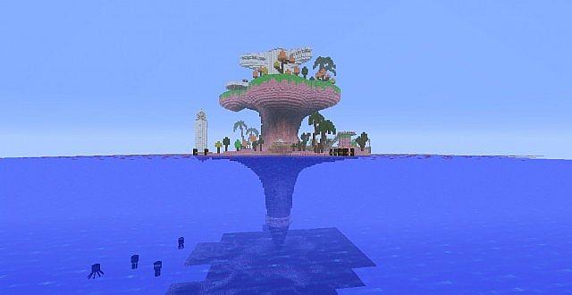 The Plastic Beach Minecraft
