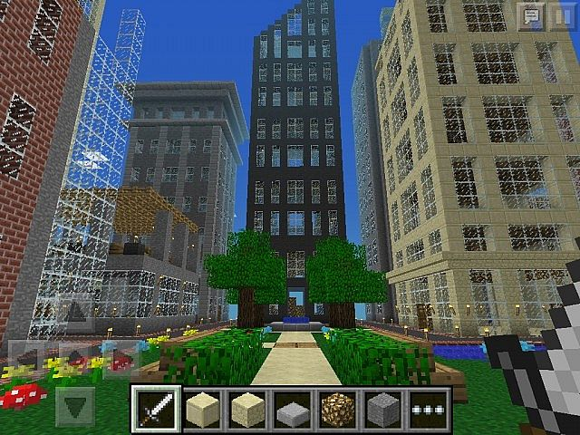 Metropolis: Giant City for Minecraft Pocket Edition Minecraft Project