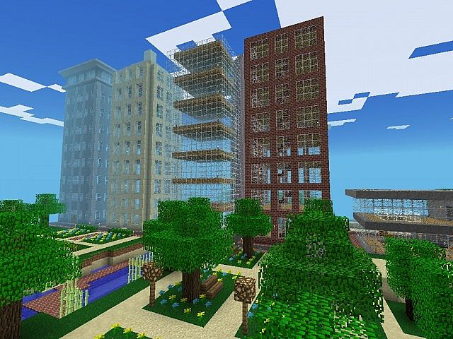 Cool Buildings In Minecraft Pe Minecraft Pocket Edition