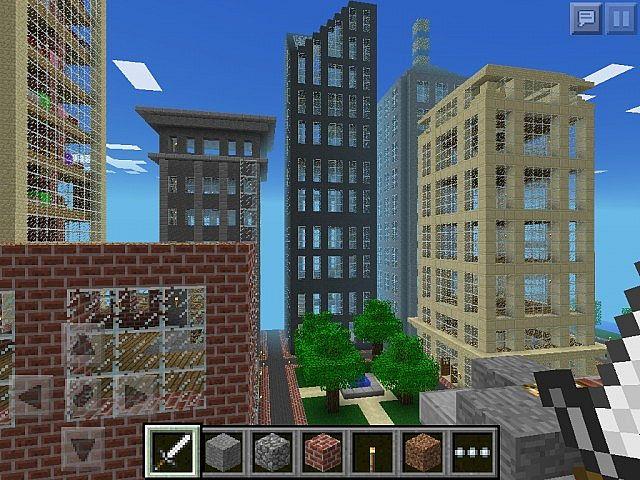 Metropolis: Giant City for Minecraft Pocket Edition ...