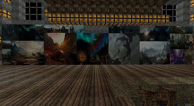 skyrim HD Texture Pack Paintings