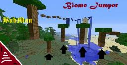 Parkour Biome Jumper 1.6 Minecraft Project