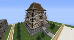 Asian Temple Minecraft Map & Project