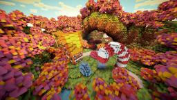 Candy Land : Cinematic Timelapse Minecraft Map & Project