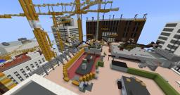 Highrise Modern Warfare 2 Multiplayer Map Remake (Call of Duty MW2) Minecraft