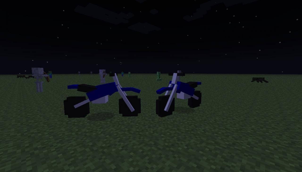 Dirt Bikes Minecraft Mod Mod Details