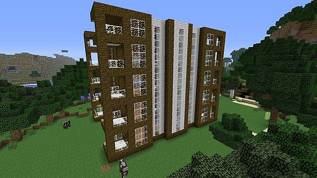 Jungle Wood Hotel Minecraft Project