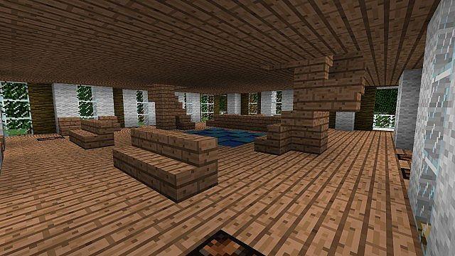 Jungle Wood Hotel Minecraft Project