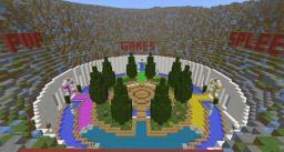 Server Hub ~ Spawn Minecraft Map & Project