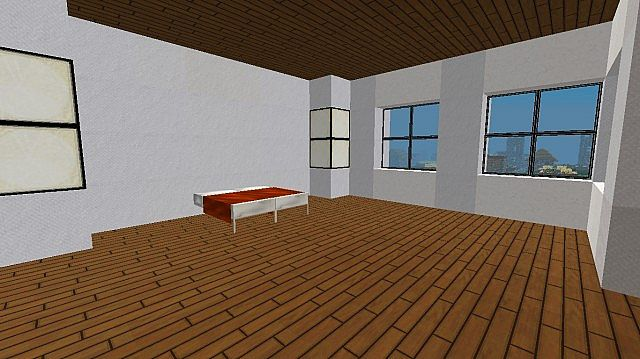 House With Balcony Minecraft Project