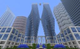 Landerdm Enterprice or The Fat Towers Minecraft Map & Project