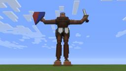 3D Gladiator Minecraft Map & Project