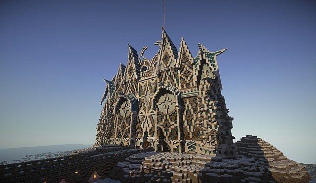 Minecraft Atlantis Build Detail