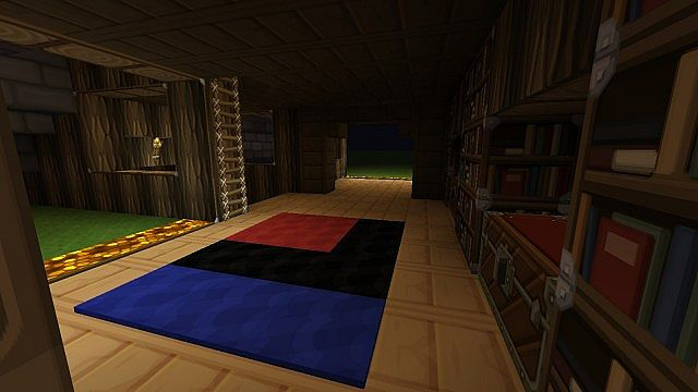 Modern Log And Brick House Minecraft Project