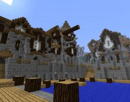 Hills Of Jetheron (Medieval Fantasy-Cityprojekt) Minecraft Map & Project