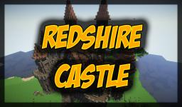 Redshire Castle (built on Block For Block server) Minecraft Map & Project