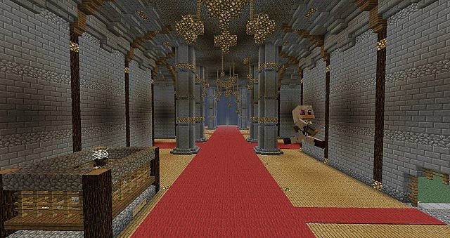 Minecraft Huge Palace Minecraft Project