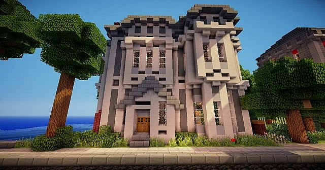 Victorian 39 House Minecraft Project