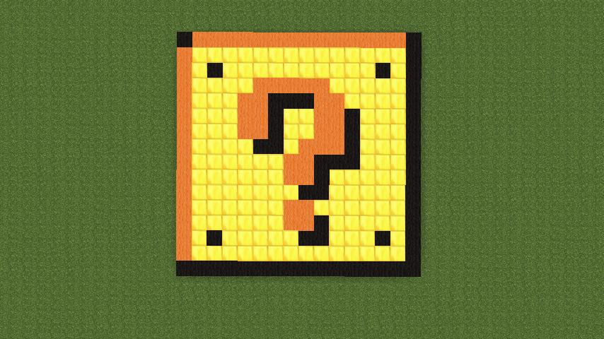 Mario Block Minecraft Project
