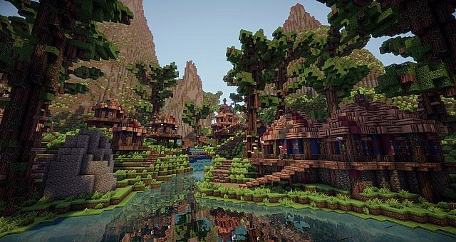 Wildscum Hollow A Goblin Village Minecraft Project