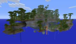 Sky World survival Minecraft Project