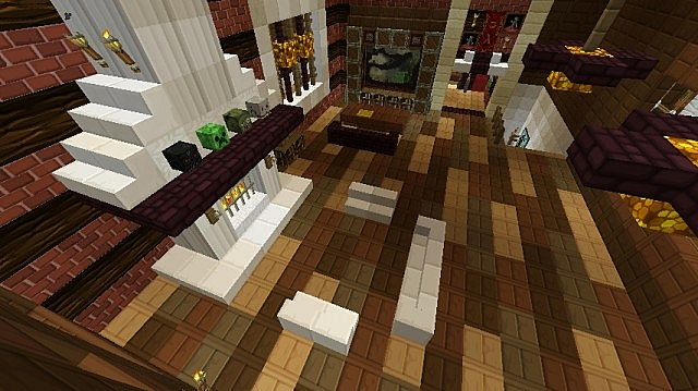 Modern Log Cabin Minecraft Project