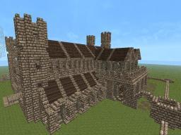 Castle project -FriendlyCraft Server- Minecraft Map & Project
