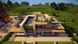 Minecraft Modern house Minecraft