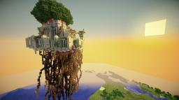 【Ghibli Ploject】Castle in the Sky project 【Laputa】 Minecraft Map & Project