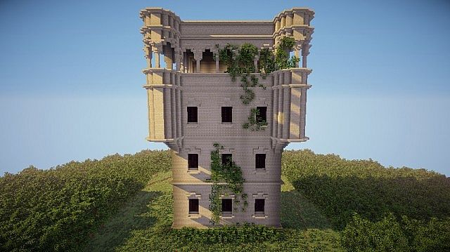 Abandoned japanese building minecraft project - Minecraft and architecture ...