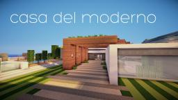 First Modern Mansion Minecraft Map & Project