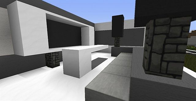 Modern living room ideas minecraft project for Minecraft house interior living room