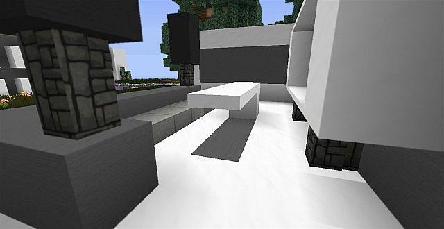 Modern Living Room Ideas Minecraft Map