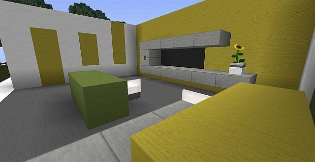 Modern Living Room Ideas Minecraft Project